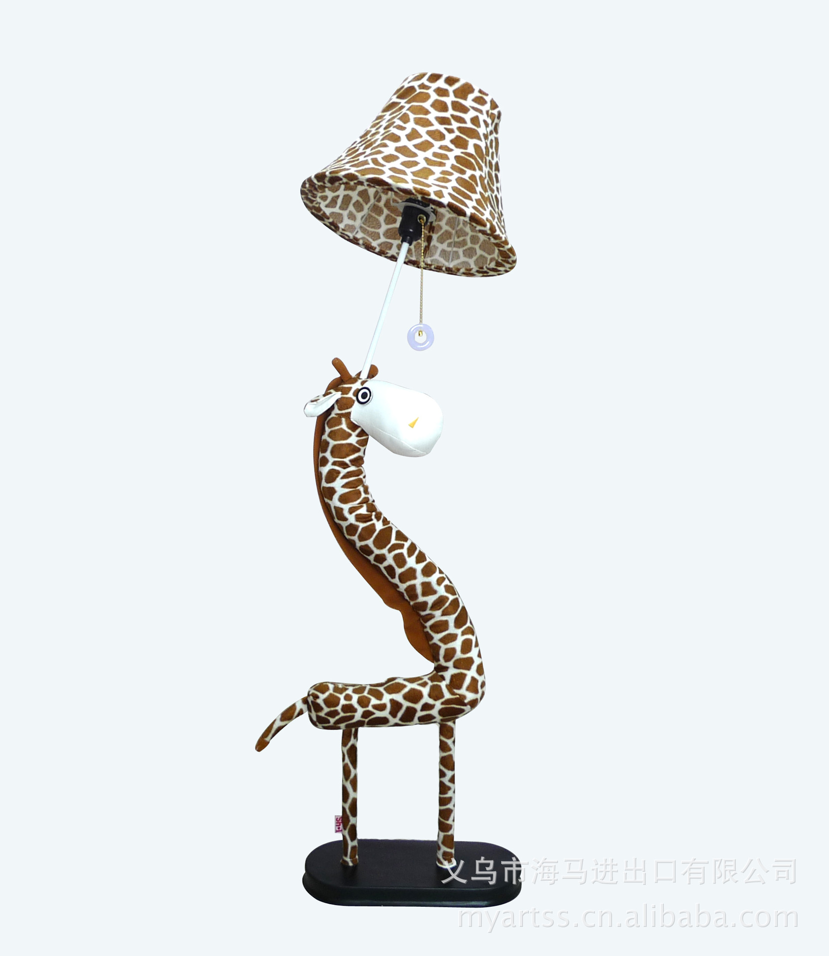 giraffe floor bedroom bedside lamp floor lamp children cute cartoon living room lighting wholesale fabric cheap floor lighting