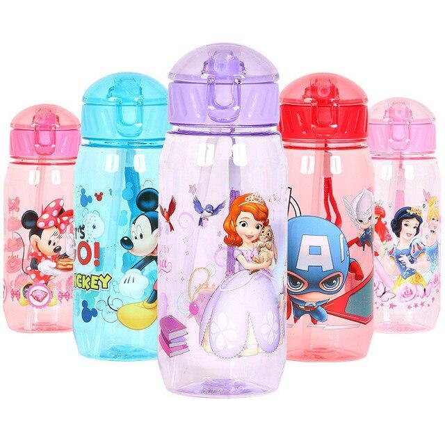 PURANKA Của Tôi Tặng Bình Nước 450 ml Thể Thao Trẻ Em Sinh Viên Trẻ Em Rò Rỉ Chống Cói Thương Hiệu Bình Nước Tritan Drinkware BPA miễn phí