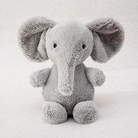 1pcs Mini Cute Elephant Plush Toy Kids Baby Girls Boys Stuffed Animals Christmas Gift Lovely Cartoon