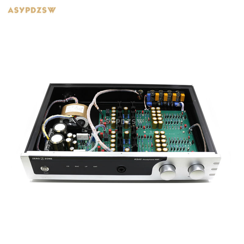 KG version KSA5 headphone amplifier Audio preamplifier With 4-speed switching 20W Class A amplifier la figaro headphone amplifier tube amplifier 2013 upgrade version