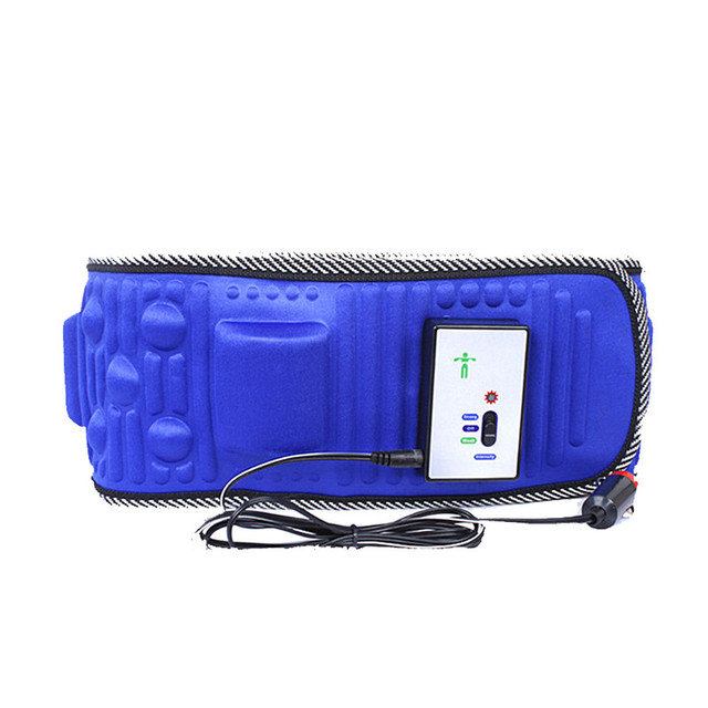 5 Motor Electric Vibrating Slimming Belt Massage Waist Slimming Exercise Leg Belly Fat Burning Heating Abdomen Massager
