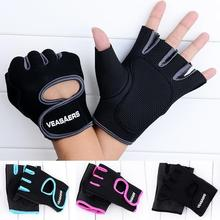 1 пара мужских/женских спортивных перчаток с полупальцами для занятий спортом, фитнесом, тренировками, на запястье, противоскользящие перчатки для тяжелой атлетики