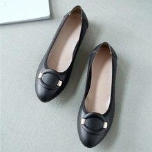 Женские туфли на плоской подошве из натуральной кожи; Лоферы без застежки; туфли-лодочки на плоской подошве; повседневные туфли на плоской подошве; удобная обувь на четыре сезона; Мокасины