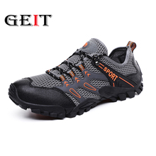 2019 New Arrival Outdoor Hiking Shoes Sapatilhas Mulher Trekking Men Randonnee Scarpe Uomo Wading Upstream Breathable Mesh