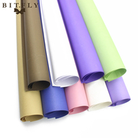 BITFLY 19pcs Double Sided DIY Kraft Flower Bouquet Wrapping Paper Floral Gift Packaging Paper Flowers Material
