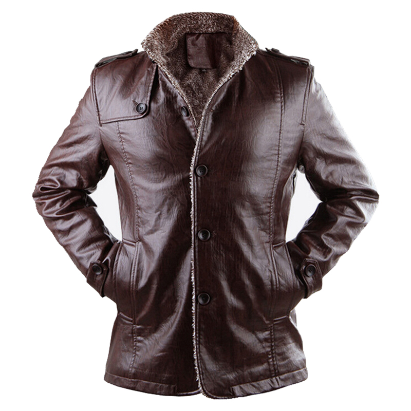 Faux Leather Jacket H M