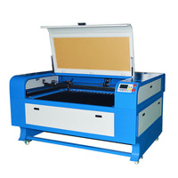 Mchuang laser equipment 1390 60W CO2 Cnc Laser Cutter , Aluminum Laser Cutting Machine for Acrylic , Leather , Rubber