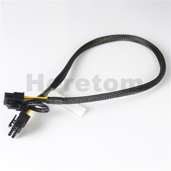 10Pcs/lot 50CM 10pin to 6+2pin GPU Video Card Power Adapter Cable For HP DL380 G9 GPU Video Card