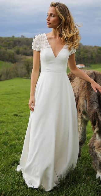 Informal Beach Wedding Dresses