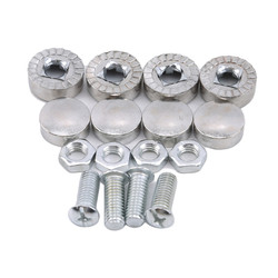 Car Modified Hex Fasteners Fender Washer Bumper Engine Concave Screws Fender Washer License Plate Bolts Car-styling