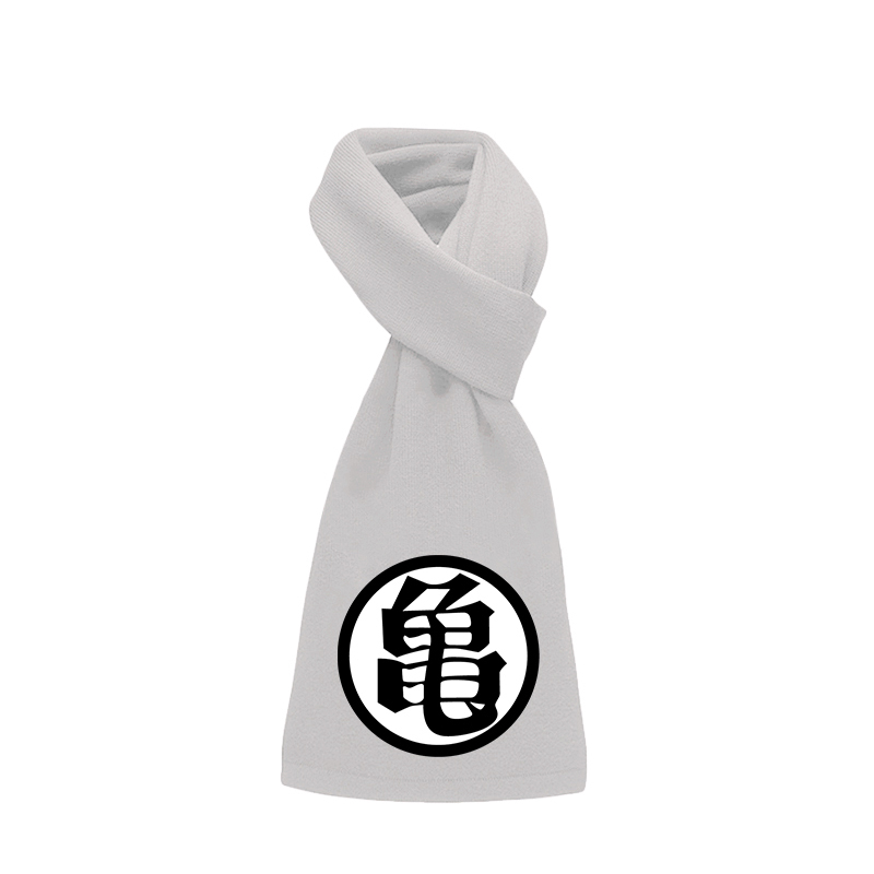 Anime DragonBall Z Kame Sennin Master Roshi Warp knitted Velvet Scarf Winter Fleece Scarf Cos Bandelet Shawl Neckerchief Muffler in Men 39 s Scarves from Apparel Accessories