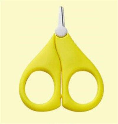 Безопасные кусачки для ногтей, ножницы, резак для новорожденных, удобный ежедневный детский инструмент для маникюра, ножницы для ногтей - Цвет: Цвет: желтый