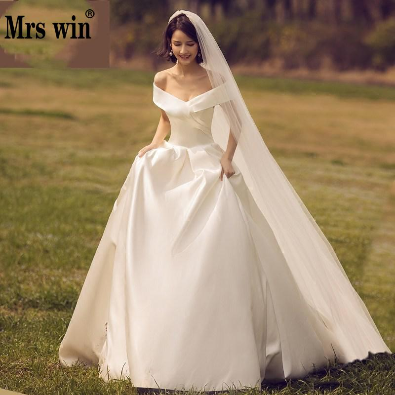 Wedding Dress 2019 New Mrs Win The Bridal Classic Soft