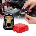 LEEPEE пара положительных и отрицательных электродов быстроразъемные зажимы для разъемов  автомобильные клеммы для аккумуляторов  автомобил...
