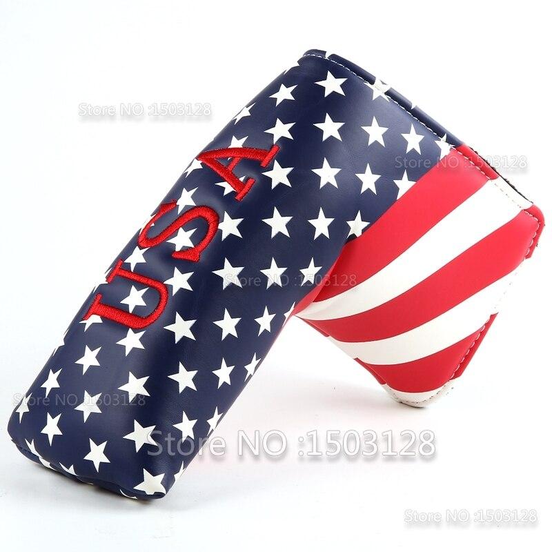 Neue USA Amerikanische US Stars and Stripes Buntes Golf Putter Cover - Golf - Foto 4