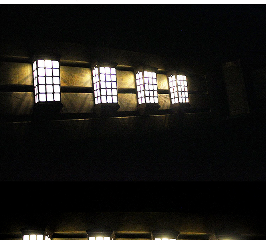Por Bateria Luzes Para Jardim Decoração Candeeiros de Iluminação Pública