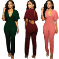 Bodysuit Jumpsuit One Piece Jumpsuits 2016 Backless Slim Rompers Sexy Women Leggings Bodysuits