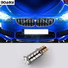 BOAOSI 1x T10 W5W Error Free Samsung LED 2835SMD Canbus For BMW E46 E39 E91 E92 E28 E61 F11 E63 E64 E84 E83 F25 E70 E53 E71 E60