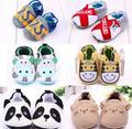 New outono & primavera dos desenhos animados animal prewalker 0-12 meses bebê infantil meninos meninas macio não-slip berço shoes 12 cm