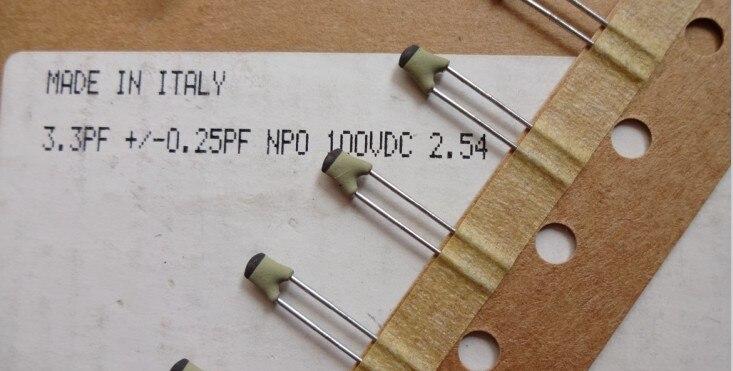 10pcs Philips 15pF//100V 2/% NP0 high precision silver film ceramic capacitor
