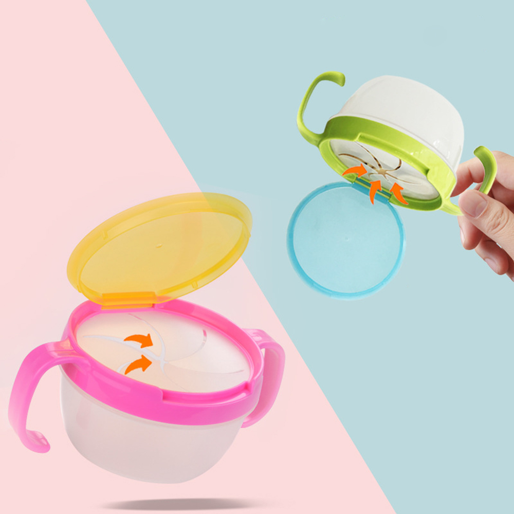 1PC Baby Anti Fall Bowl Baby Heat Retaining Warm Divided Bowl Toddler Water Injected Insulated Feeding Bowl with Sucker Green