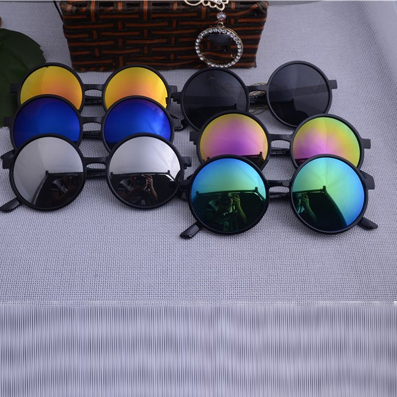 فيستي جولة نظارات المرأة 2019 العلامة التجارية مصمم النظارات الشمسية المرأة النظارات الشمسية أزياء الصيف