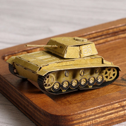 3D Paper Craft Template Mini Tank Model Toy For Kids In From Home Garden On Aliexpress