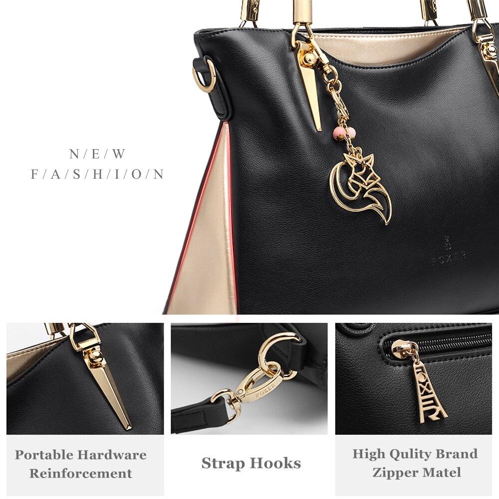 FOXER Брендовые женские сумки из воловьей кожи и сумки через плечо, женские модные сумки, женские сумки через плечо - 5