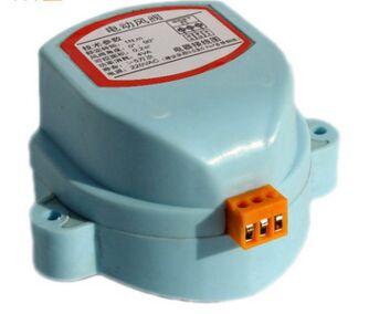 Actuator For Air Damper Valve Electric Air Duct Motorized Damper For Ventilation Pipe Valve 220V