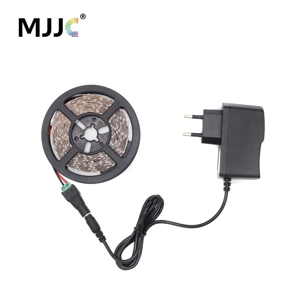 LED Strip 12V Waterproof SMD 2835 TV Backlight 5M 10M Fita LED Stripe Tape Ribbon Light Tira Bias Lighting for PC Background(China)