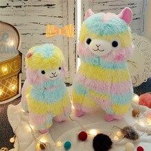 1PC13/18/ 35/45CM Lovely Japanese Alpacasso Soft Toys Doll Kawaii Sheep Alpaca Plush Stuffed Animals Toys Kids Christmas Gifts недорого