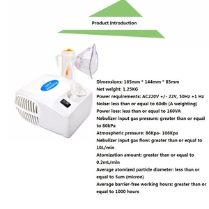 Image 3 - Portable Steam Nebulizer Personal Compact Vaporizer For Kids, Adults and Children with 1 Set Accessories