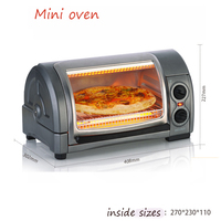 800w 31334 CN American Oven Bakery Multifunctional Mini Oven Pizza Machine