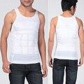 Hombres adelgaza la talladora del cuerpo del vientre graso chaleco shapewear sexy underwear hombres térmica delgado chaleco camisa corset compresión
