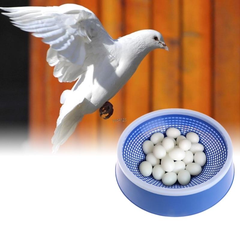Голубь Пластик гнездо яиц или натуральный Волокно трава гнездо Коврики Товары для птиц осушения бассейна поставка разведение чаша или гнез...