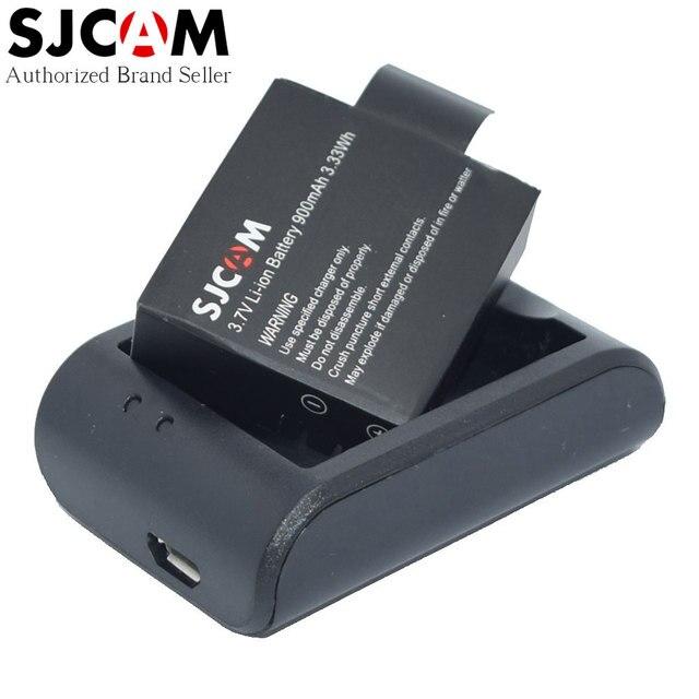 SJCAM Действий Камеры Зарядное Устройство Батареи + Оригинальный Аккумулятор для M10/SJ4000/Wi-Fi/SJ5000 SJ4000/SJ5000 Плюс/SJ5000x Мини Спорт DV