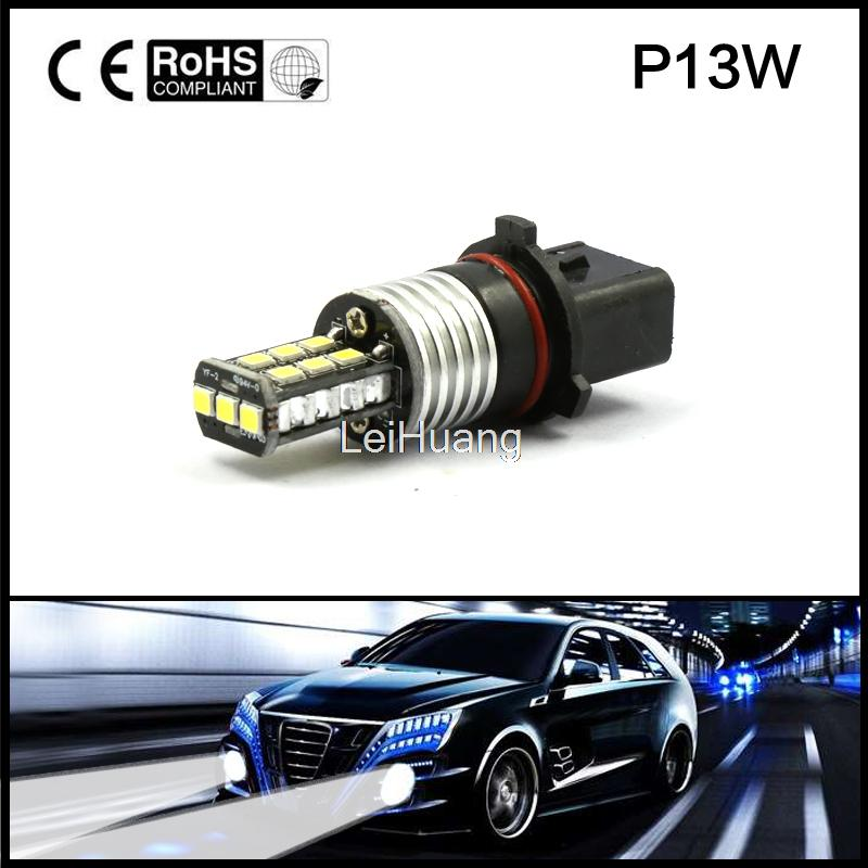 Super Bright P13W 15W High Power Chevy Fog Driving DRL Headlight LED 12V Canbus