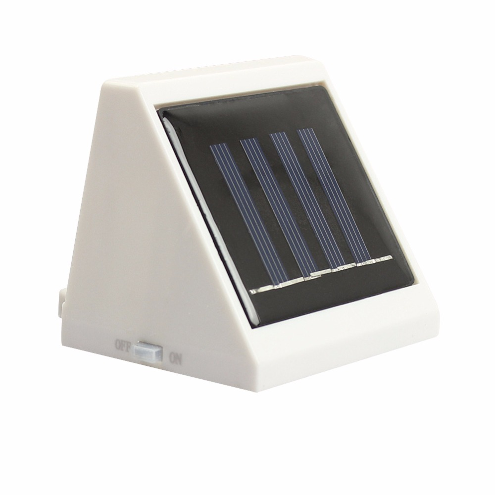 New garden lighting solar powered outdoor 2 led pathway for Led landscape lamps