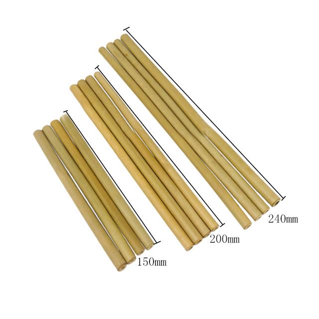 Reusable Organic Bamboo Drinking Straws