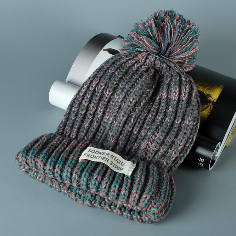 قبعة صوف دافئة نسائية 10