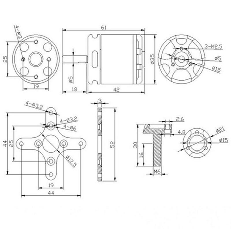 Wiring diagram brushless motor