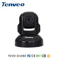 Promo Tenveo D1080 USB cámara PTZ Plug and Play foco fijo 140 grados gran angular Video conferencia cámara para Skype Whatsapp Wechat