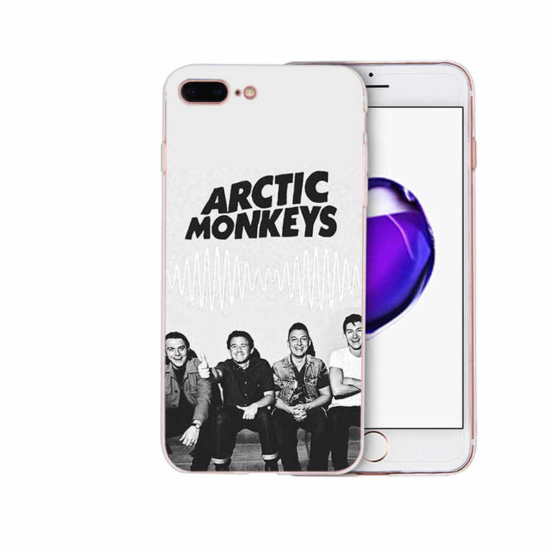 Имидо ARCTIC MONKEYS Симпатичные, из мягкого ТПУ CoverSheath для Iphone 6 6 S 6 плюс 6 S плюс 7 8 7 плюс 8 плюс X XS XR XSMAX 5 5S SE