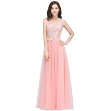 vestido de festa longo corto Lace Formal Evening Dress