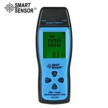 лучшая цена SMART SENSOR AS1392 EMF Meter Handheld Mini Digital LCD EMF Tester Electromagnetic Field Radiation Detector Meter Dosimeter Test