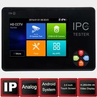 IP Камера Тесты er3.5 дюймов IPS Экран H.265 4 К IP CCTV Тесты Мониторы аналоговый Тесты er IP Камера Тесты er безопасности Камера системы