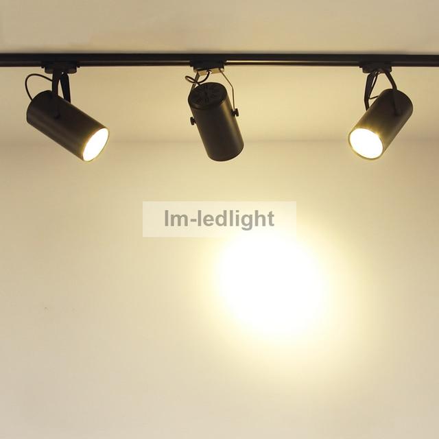 Snelle gratis schip 100 stks RGB LED track verlichting 9 W 12 W warm ...