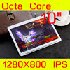 Android5 1 Tablet 9 6 IPS 1280 800 Keyboard MT6592 Octa Core Tablette Dual SIM 3G