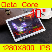 Android5.1 Tablet 10 IPS 1280*800 keyboard MT6592 Octa Core Tablette 4G LTE GPS Bluetooth wifi The metal shell Tablet PC