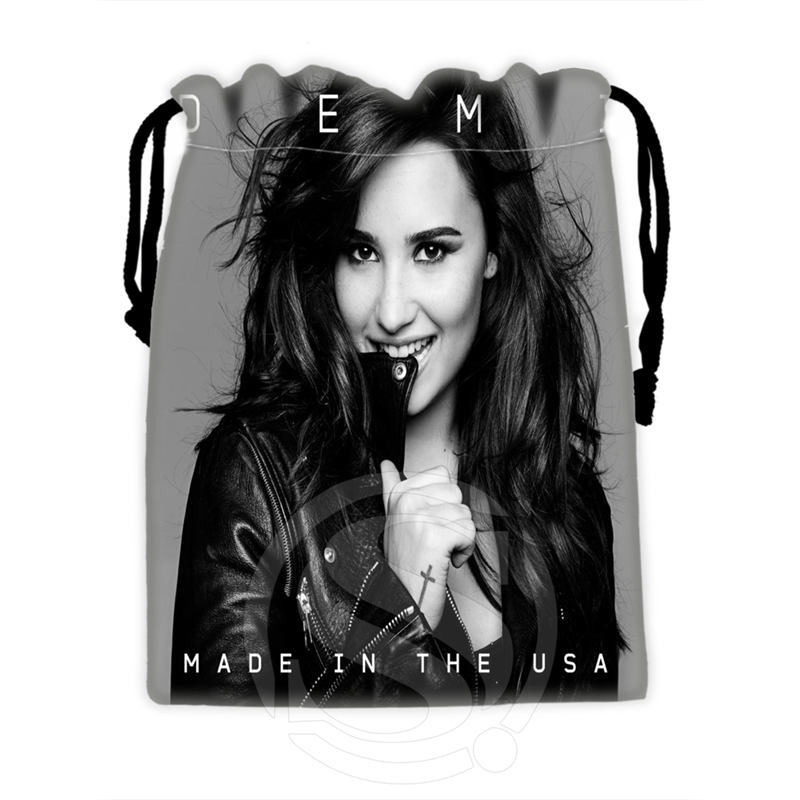 H-P756 Custom Megan Fox#6 Drawstring Bags For Mobile Phone Tablet PC Packaging Gift Bags18X22cm SQ00806#H0756